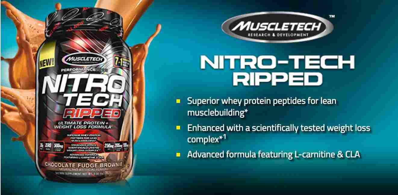 zer nitro tech pentru pierderea în greutate